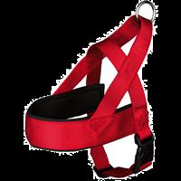 TRIXIE Premium - Comfort Geschirr - rot