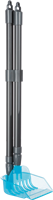 TRIXIE Kehrschaufel mit Harke grau/blau