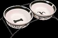 TRIXIE Napf-Set - Keramik/Metall