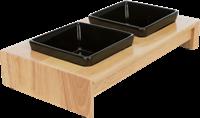 TRIXIE Napf-Set Keramik/Holz - M (24820)