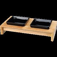 TRIXIE Napf-Set - Keramik/Holz - L (24821)