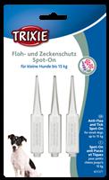 TRIXIE Floh- und Zeckenschutz Spot-On - kleine Hunde - 3 × 1,5 ml (25377)