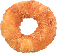 TRIXIE Denta Fun Filled Chicken Chewing Ring - ø 11 cm, 65 g (31316)