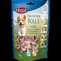 TRIXIE Premio Rolls mit Hühnchen und Seelachs für Hunde - 75 g (31535)