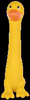 TRIXIE Spielzeug Longie aus Latex - gelbe Ente (3503)