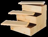 TRIXIE Treppe - Holz - 40 × 38 × 45 cm - natur (3943)