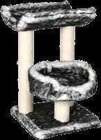 TRIXIE Kratzbaum - Isaba - 62 cm schwarz/weiß (44567)