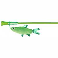 TRIXIE Spielangel mit Fisch - 42 cm (45742)