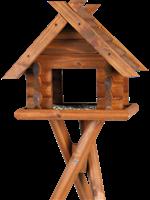 TRIXIE natura Block-Futterhaus mit Ständer