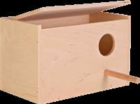 TRIXIE Nistkasten - Holz, 21 × 13 × 12 cm/ø 4 cm (5630)