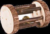 TRIXIE Natural Living - Spielrolle mit Schelle - 5 x 7 cm (61654)