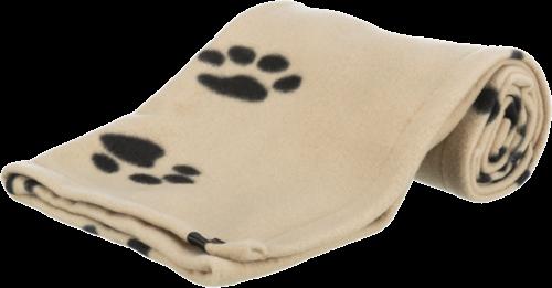 TRIXIE Beany - Fleecedecke für Hunde - 100 x 70 cm - beige (37191)
