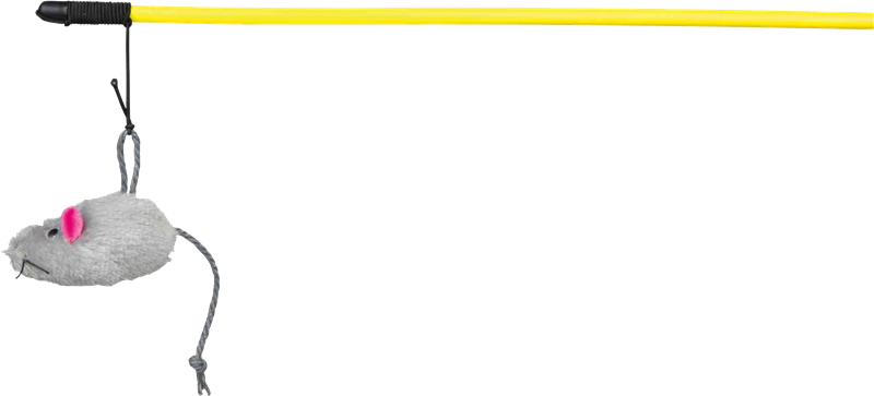 TRIXIE Spielangel mit Maus - 50 cm (4105)