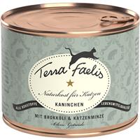 Terra Faelis - 200 g - Kaninchen mit Broccoli & Katzenminze (T220014)