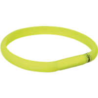 Trixie Safer Life USB Flash Leuchtband - 18 mm breit, grün