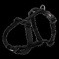 Trixie Premium - H-Geschirr - schwarz