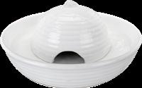 Trixie Trinkbrunnen Vital Flow Mini, Keramik, 0,8 l/ø 24 × 10 cm, weiß (24468)