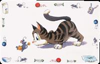 Trixie Napfunterlage Comic Katze - 44 cm x 28 cm (24544)