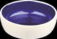 Trixie Katzennapf aus Keramik - 0,3 l / Ø 12 cm creme blau (2467)