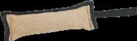 Trixie Trainings-Dummy Beißwulst - aus Jute mit Handschlaufe - 30 cm x 10 cm (3297)