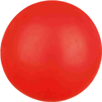 Trixie Schwimmender Naturgummiball - ø 7cm - zufällige Farbwahl (3329)