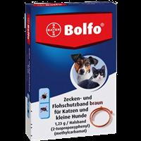 Bayer Bolfo Zecken- und Flohschutzband - braun