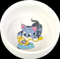 Trixie Napf mit Motiv aus Keramik