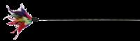 Trixie Spielstab mit Federn - 50 cm (4106)