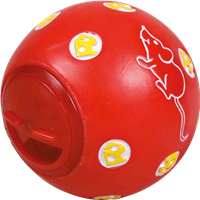 Trixie Cat Activity - Snackball, ø 7 cm - Farbauswahl zufällig (4137)