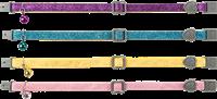 Trixie Katzenhalsband mit Schelle - Nylon - Farbwahl zufällig (4207)