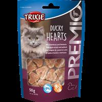 Trixie Premio - Hearts mit Entenbrust & Seelachs - 50 g (42705)