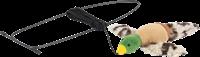 Trixie Vogel zur Befestigung am Türrahmen - Plüsch - 13 cm / 175 cm (45771)
