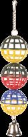 Trixie 3er Gitterball mit Kette und Glöckchen - 1 cm (5251)