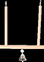 Trixie Trapezschaukel mit Glocke - 12 × 13 cm (5830)