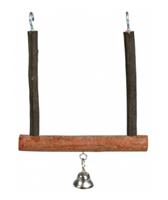 Trixie Natural Living Trapezschaukel mit Glocke - 12 x 15 cm (5831)