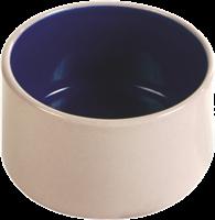 Trixie Keramiknapf für Hamster & Mäuse - 100ml / ø 7cm creme/blau (6066)
