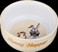 Trixie Honey & Hopper - Keramiknapf - 250ml / ø 11 cm / zufällige Farbwahl zufällig (60808)