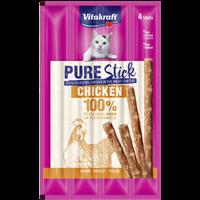Vitakraft Pure Stick - 4 x 5 g - Huhn (59570)