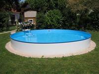 Waterman GmbH Rundform Aufstellbeckenset Balearen Ø 500x150cm (SW:0,8 IH:0,6) (503010610VS)