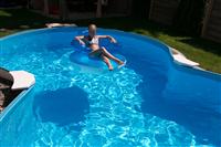 Waterman GmbH Achtform Aufstellbeckenset Cannes 625x360x150cm (SW:0,8 IH:0,6) (503010860VS)