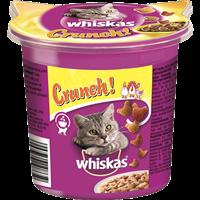 Whiskas Crunch - mit Huhn, Truthahn & Ente - 5 x 100 g (108666)
