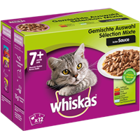 Whiskas in Sauce - Multipack - 12 x 100 g