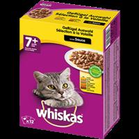 Whiskas 7+ in Gelee - Multipack - 12 x 100 g