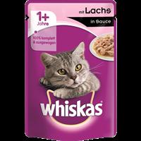 Whiskas Portionsbeutel in Sauce - 100 g - mit Lachs (4008429079719)