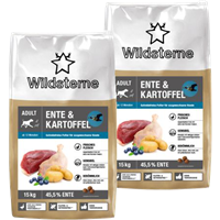 Wildsterne Ente & Kartoffel Adult