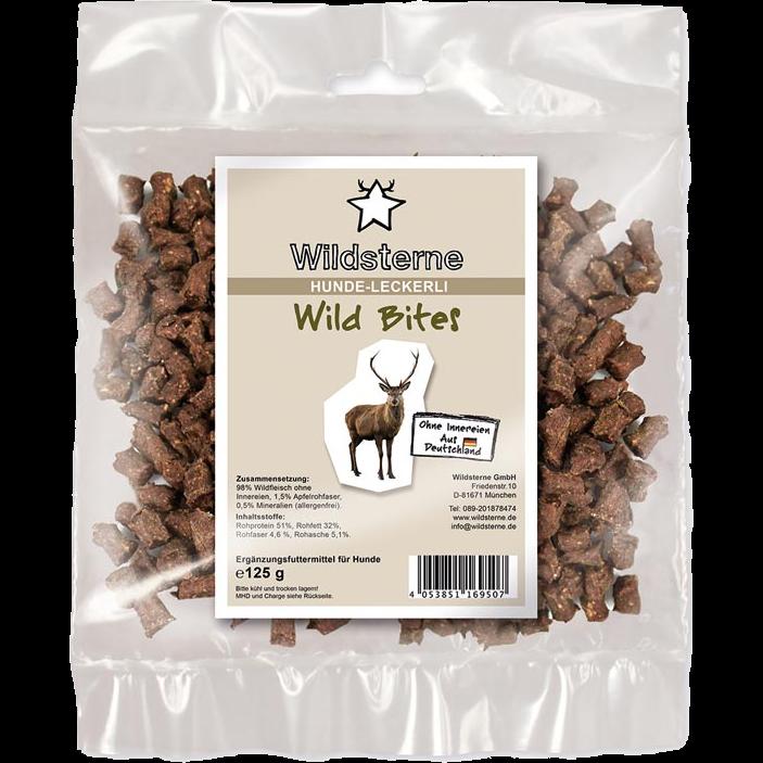 Wildsterne Bites - 125 g - Wild (LK050)