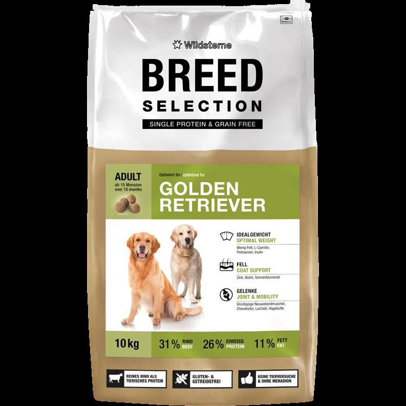 Wildsterne Breed Selection - Golden Retriever - 10 kg (WSB-GR-10)