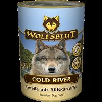 Wolfsblut Nassfutter - 395 g - Cold River (WBDOCR395)