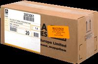 Thermal paper Zebra 3003061 20PCK
