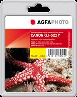 Cartucho de tinta Agfa Photo APCCLI521YD